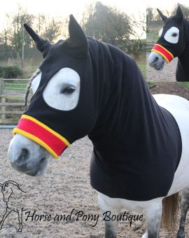 Fleece Horse Hoods