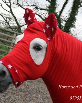 Stretch Horse Hood Fleece Trim